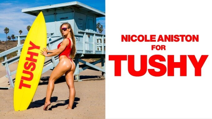 Nicole Aniston's 1st Anal Now on Tushy.com