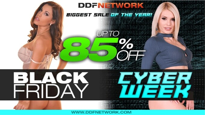 DDF Network Offering Black Friday/Cyber Week Sale