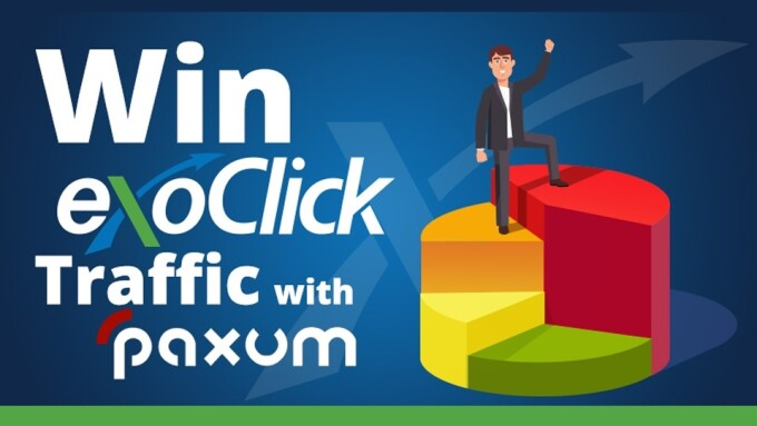 ExoClick Partners With Paxum for Traffic Giveaway