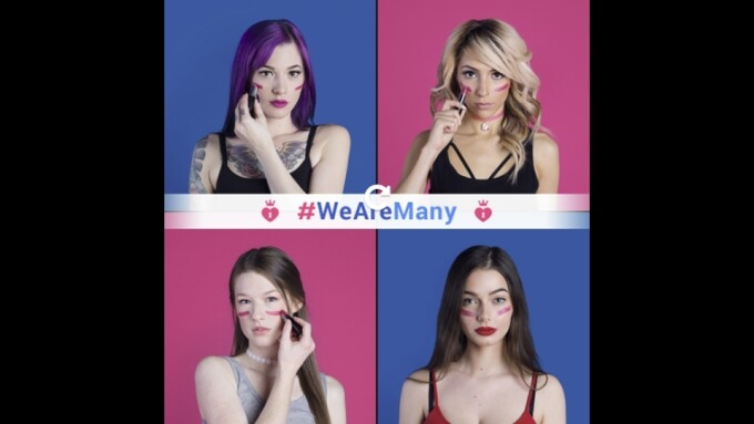 ManyVids Launches #WeAreMany Campaign to Fight Against Sex Abuse