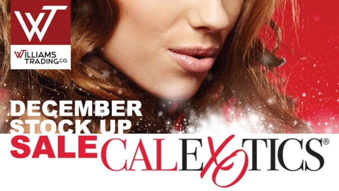 Williams Trading Offers 'Stock Up Sale' on CalExotics Products