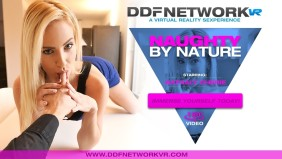 Nathaly Cherie Stars in DDFNetworkVR's 'Naughty by Nature'