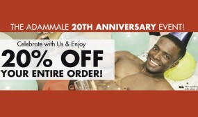 AdamMale Celebrates 20 Years With Promo
