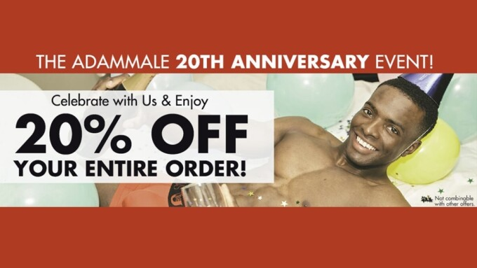 AdamMale Celebrates 20th Anniversary