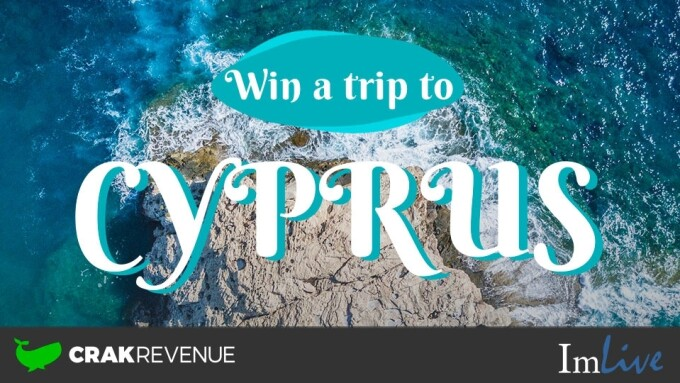 ImLive, CrakRevenue Team Up for 'Win a Trip to Cyprus'