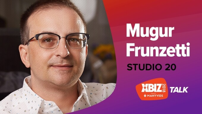 Studio 20's Mugur Frunzetti to Give 'XBIZ Talk' at January Show