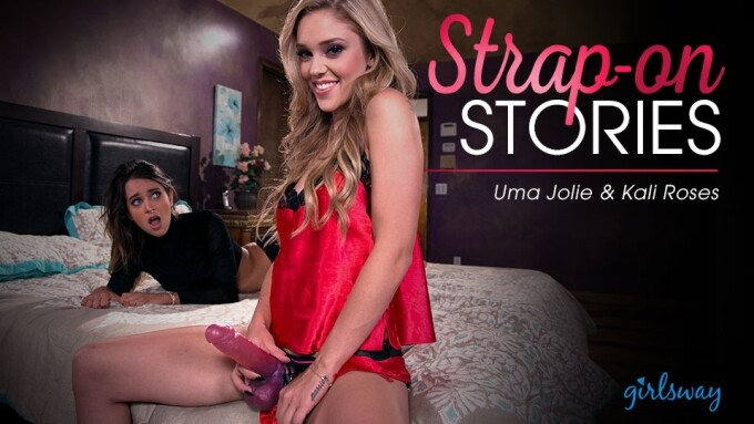 Girlsway Debuts 'Strapped by My Sister'