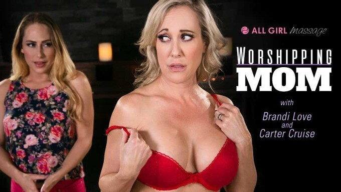 Gamma Films' All-Girl Massage Debuts 'Worshipping Mom'