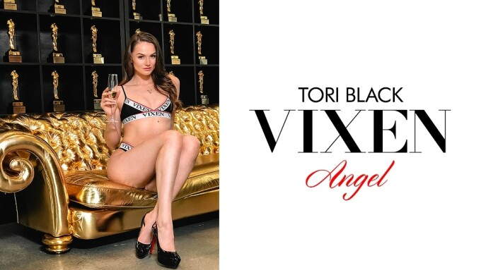 Tori Black Named Newest Vixen Angel