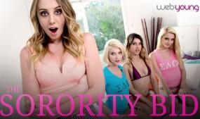 Girlsway Celebrates the Sisterhood in 'The Sorority Bid'