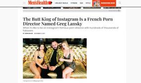 Greg Lansky Featured in Men's Health