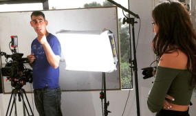 Forbes Spends a Day on Set With Bree Mills, Stills by Alan