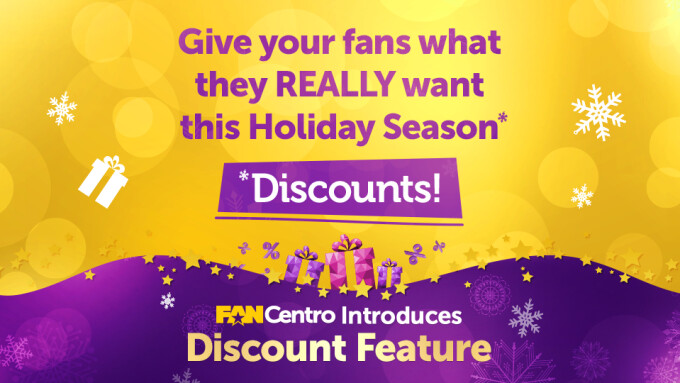 FanCentro Adds Discount Feature for Snapchat, Instagram Subscriptions
