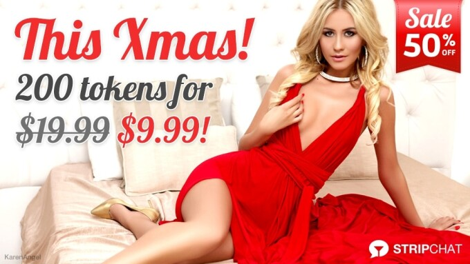 Stripchat Launches 50% Off Christmas Deal for Members