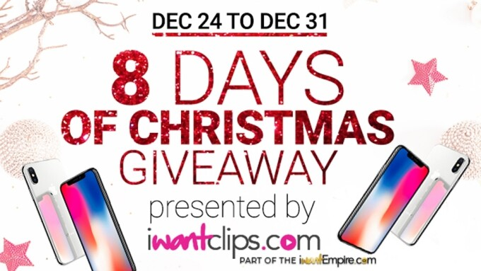 iWantClips Celebrates Eight Days of Christmas With Artist Contest