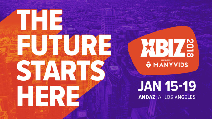2018 XBIZ Show's Official Schedule Announced