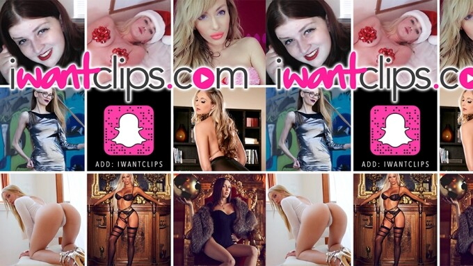 iWantClips Announces January Snapchat Takeovers