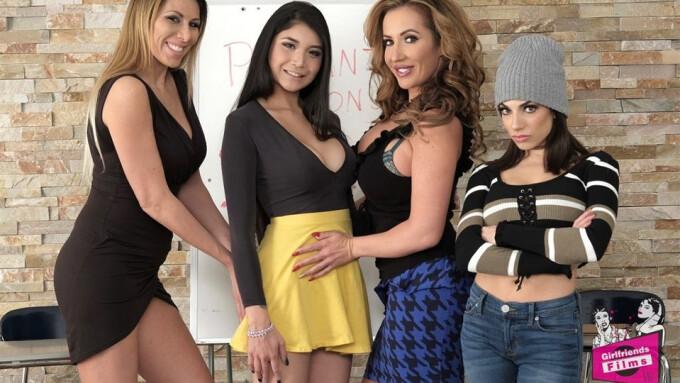 Girlfriends Films Streets 'Mother Daughter Exchange Club 50'