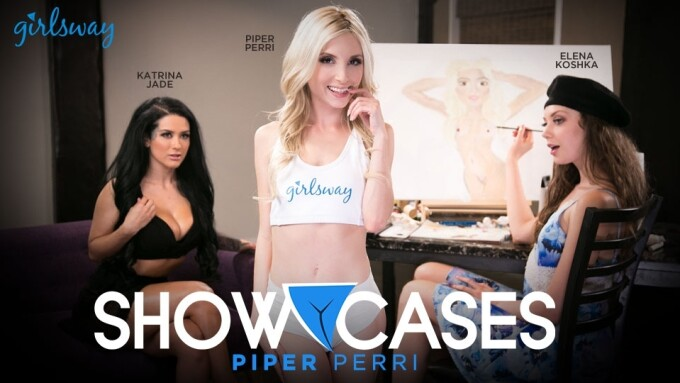 Girlsway Debuts 'Showcases: Piper Perri'