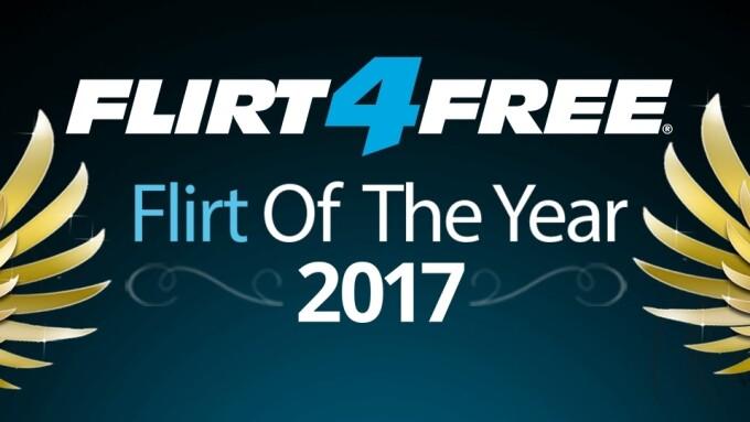 Flirt4Free Names 2017 'Flirt of the Year' Winners, Awards $180K in Prizes