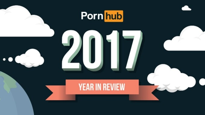 PornHub Unloads Massive 2017 'Year in Review'