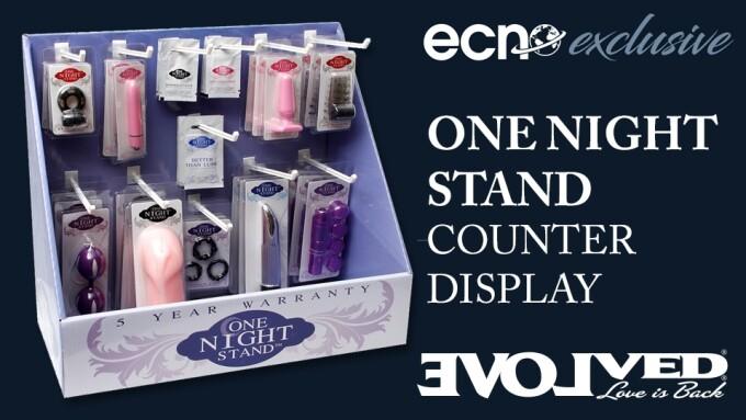 ECN, Evolved Novelties Partner for One Night Stand Display