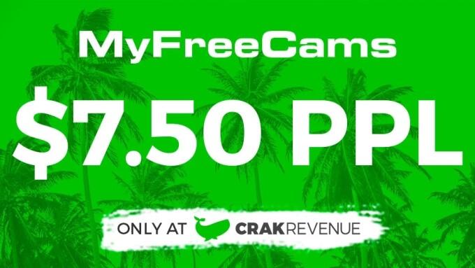CrakRevenue Continues MyFreeCams Promo
