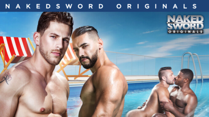 NakedSword Originals Debuts 'Pool Mates'