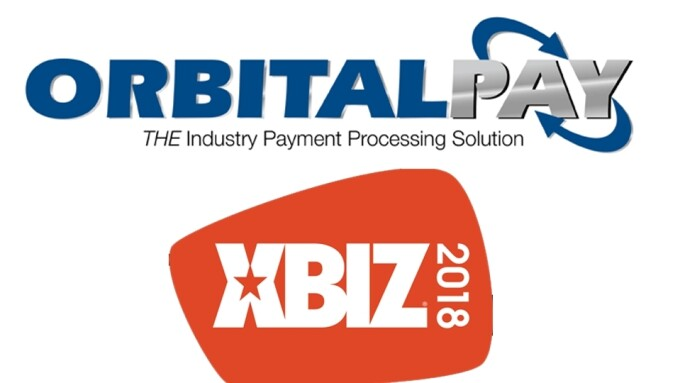 OrbitalPay Named Registration Sponsor of 2018 XBIZ Show