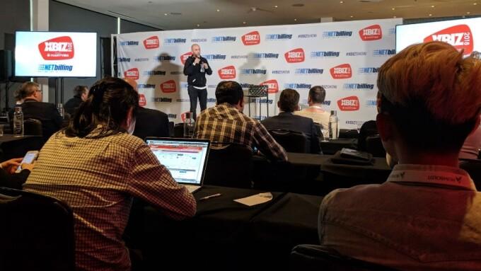 XBIZ 2018: Gian Carlo Keynote Electrifies Attendees