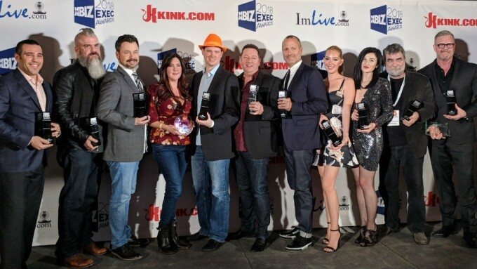 XBIZ 2018: Glitzy Exec Awards Soiree Honors Online Industry Leaders