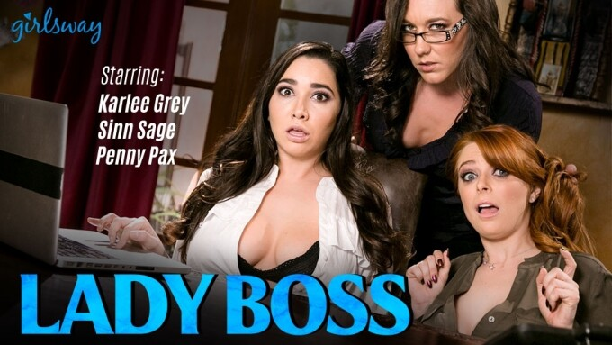Girlsway Presents 3 New Chapters of 'Lady Boss'