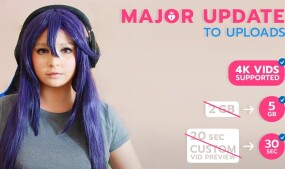 ManyVids Upgrades Upload Feature
