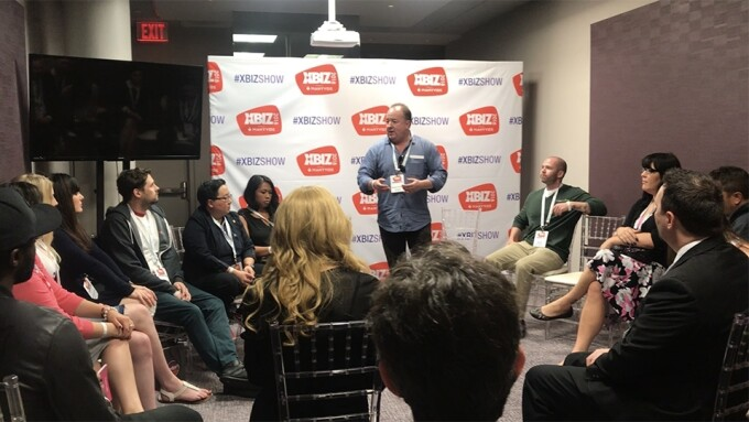 XBIZ 2018: Grooby Roundtable Educates, Connects Professionals