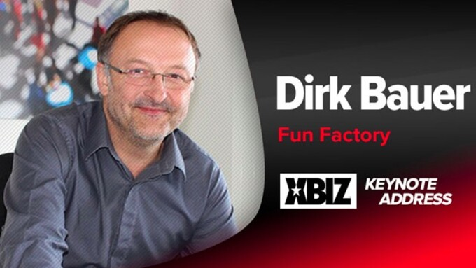 Fun Factory Co-Founder Dirk Bauer Discusses Passion, Innovation in XBIZ Keynote