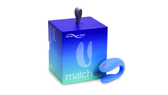 Entrenue Now Shipping We-Vibe Match Couples Toy