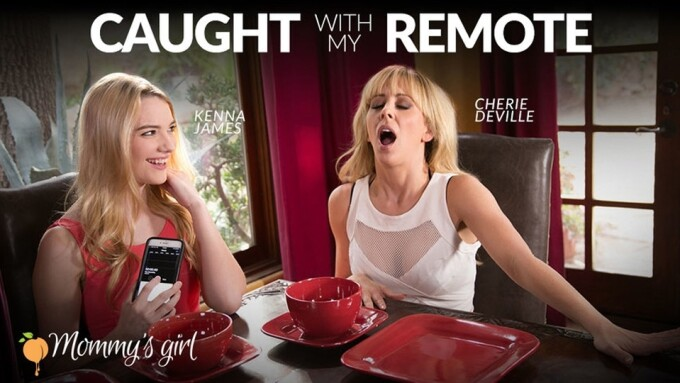 Girlsway's 'Caught With My Remote' Debuts Saturday