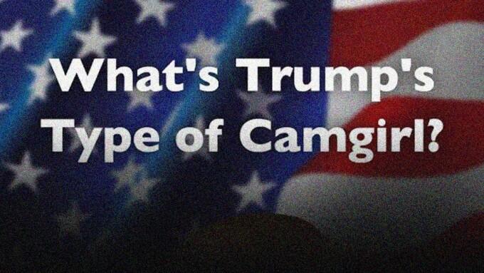 Stripchat Polls Fans on President Trump's Favorite Type of Cam Girl