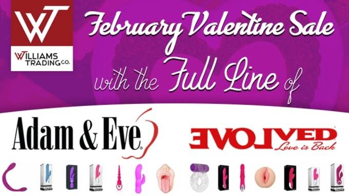 Williams Trading Announces Valentine's Day 'Super Sale'