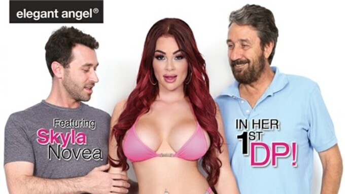 Skyla Novea Stars in Elegant Angel's 'It's a Family Thing 2'