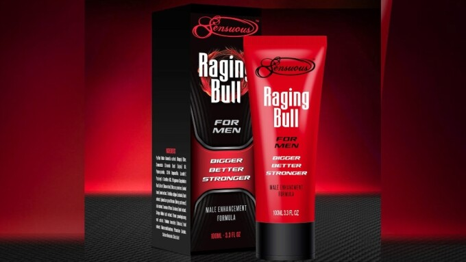 Sensuous' Libido-Charging Raging Bull Enhancer Now Shipping