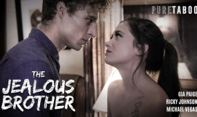 Gia Paige Stars in 'The Jealous Brother' From PureTaboo