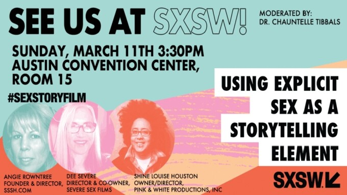 'Using Explicit Sex as Storytelling Element' SXSW Date Approaching