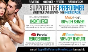 Web Companies Unite for 'Support The Performer' Promo