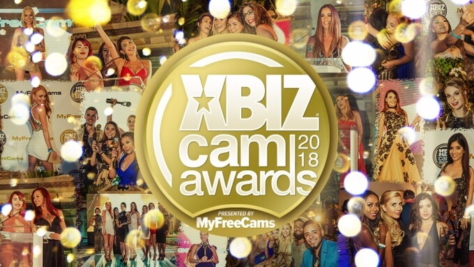 XBIZ Cam Awards Pre-Nom Period Now Open