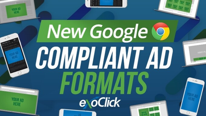 ExoClick Offers Google-Compliant Ad Formats