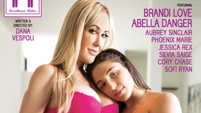Brandi Love Stars in 'Lesbian Babysitters 15'