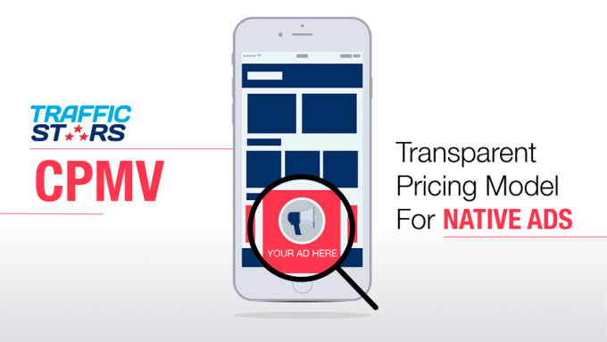 TrafficStars Offers Transparent CPMV Pricing for Native Ads