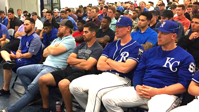 MLB's Royals Host Anti-Porn Workshop for Players, Coaches