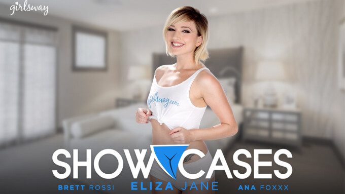 Eliza Jane Stars in New Girlsway 'Showcases' Scene